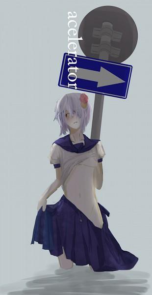 Tags: Anime, To Aru Majutsu no Index, Suzushina Yuriko, Accelerator, Artist Request