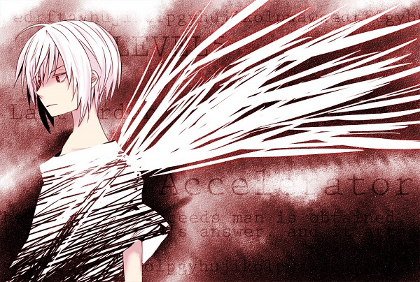 Tags: Anime, To Aru Majutsu no Index, Accelerator, Faux Wings, Artist Request