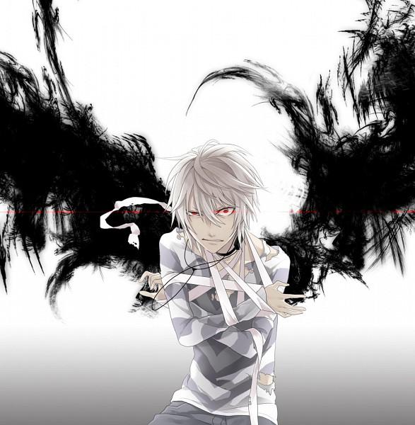 Tags: Anime, Kyou Zip, To Aru Majutsu no Index, Accelerator, Glaring, Pixiv, Fanart, deviantART