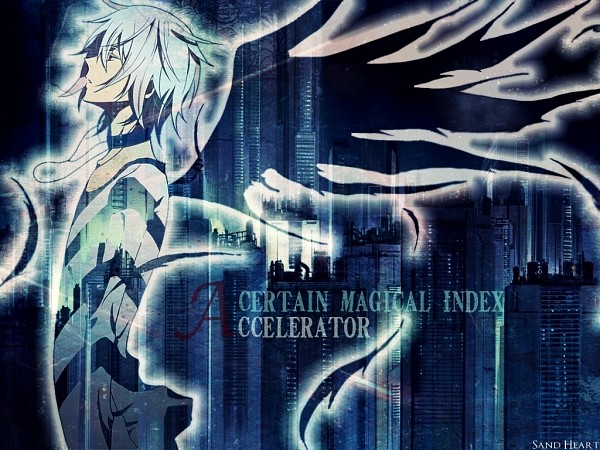 Tags: Anime, Pixiv Id 353260, To Aru Majutsu no Index, Accelerator, Wallpaper, Fanmade Wallpaper, Edited