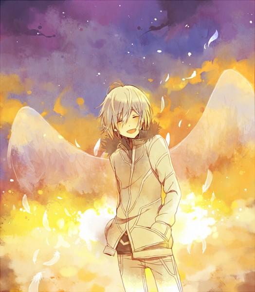 Tags: Anime, Kina58, To Aru Majutsu no Index, Accelerator, Dusk, Pixiv, PNG Conversion, Fanart