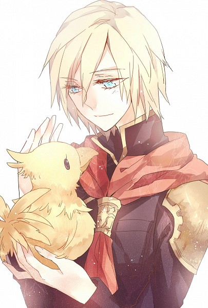 Tags: Anime, Pixiv Id 990860, Final Fantasy Type-0, Chocobo, Ace (Final Fantasy Type-0), Mobile Wallpaper, Pixiv, Fanart, Fanart From Pixiv