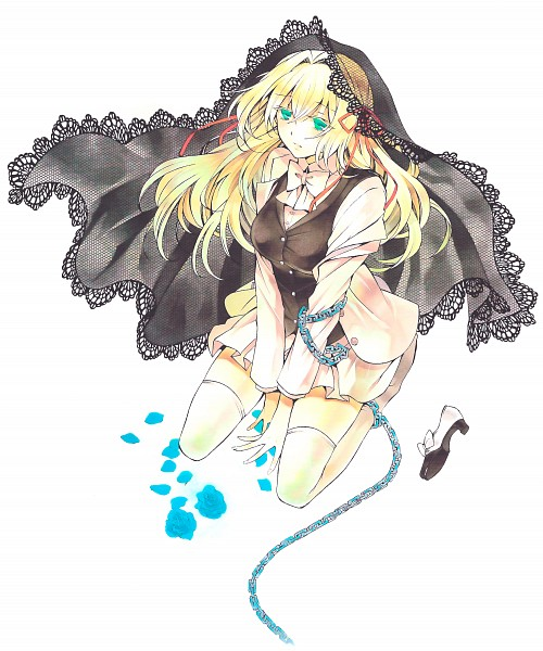 Tags: Anime, Mochizuki Jun, Pandora Hearts, Pandora Hearts ~There Is~, Ada Vessalius, Scan, Official Art