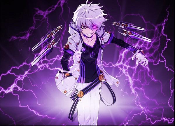 Tags: Anime, Elsword, Add (Elsword), Official Art, Edited