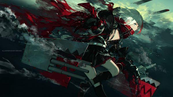 Tags: Anime, swd3e2, Azur Lane, Admiral Graf Spee (Azur Lane), Fanart, Fanart From Pixiv, Pixiv, Wallpaper