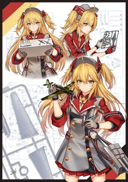 Tags: Anime, Pixiv Id 19179664, Azur Lane, Admiral Hipper (Azur Lane)