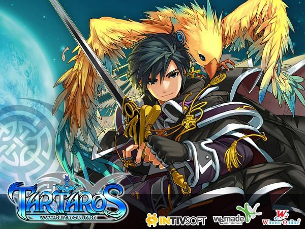 Tags: Anime, Tartaros Online, Aelrot, Wallpaper, Official Art, Official Wallpaper