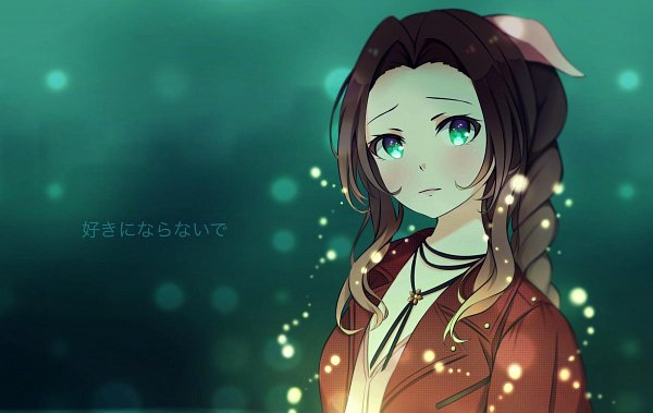 Tags: Anime, Pixiv Id 9013866, Final Fantasy VII, Aerith Gainsborough