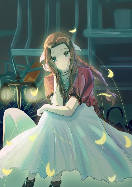 Tags: Anime, Pixiv Id 9827017, Final Fantasy VII Remake, Final Fantasy VII, Aerith Gainsborough