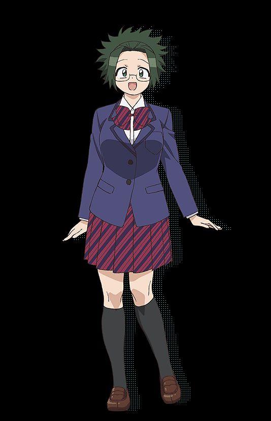 Agari Himiko (Himiko Agari) - Komi-san wa Comyushou desu.