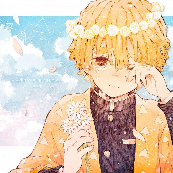 Tags: Anime, Pixiv Id 15153064, Kimetsu no Yaiba, Agatsuma Zenitsu, Pixiv, Fanart, Fanart From Pixiv