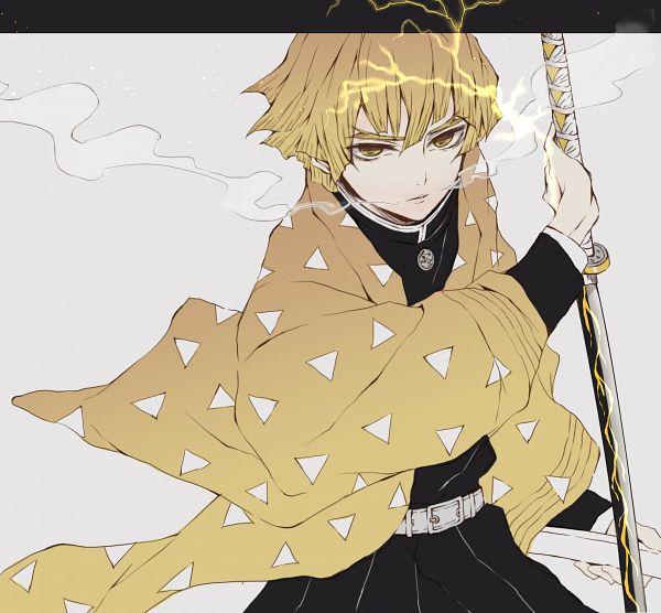 Tags: Anime, Pixiv Id 41220141, Kimetsu no Yaiba, Agatsuma Zenitsu, Fanart, Fanart From Pixiv, Pixiv