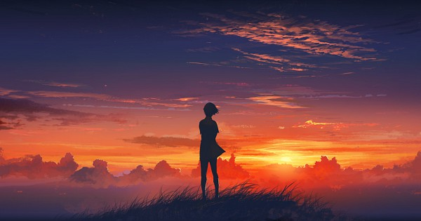 Tags: Anime, Agnidevi, Facebook Cover, deviantART, Pixiv, Original