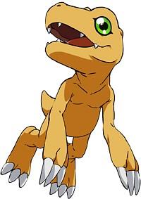 Agumon - Digimon Adventure