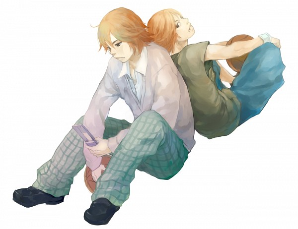 Tags: Anime, Pixiv Id 2075061, Ahiru no Sora, Igarashi Koota, Kurumatani Sora, Pixiv, Fanart