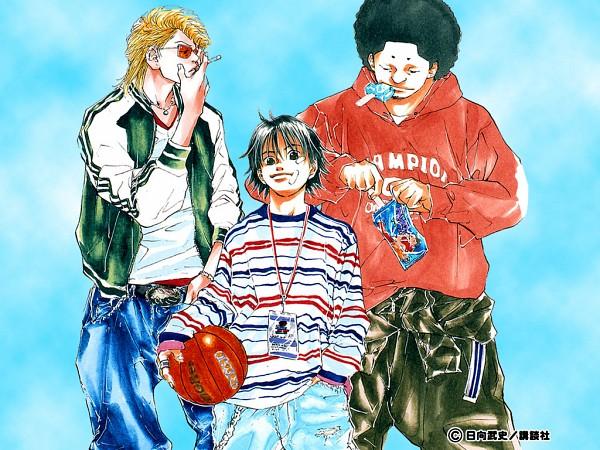 Tags: Anime, Takeshi Hinata, Ahiru no Sora, Hanazono Chiaki, Kurumatani Sora, Hanazono Momoharu, Official Art, Official Wallpaper, Wallpaper