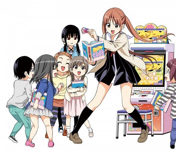 Tags: Anime, Hiroyuki (Pixiv156638), Aho Girl, Akutsu Ruri, Hanabatake Yoshiko, Official Art, Pixiv, Fanart, Fanart From Pixiv