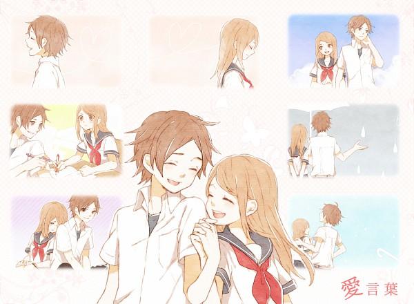 Tags: Anime, Tama Songe, ShounenT, Riseha, Study, Fanart, DECO*27, Nico Nico Douga, Ai Kotoba, Nico Nico Singer, Pixiv