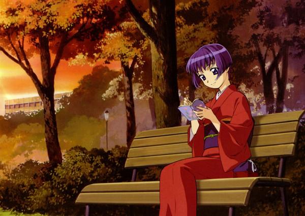 Tags: Anime, Kou Fumizuki, J.C.STAFF, Ai Yori Aoshi, Ai Yori Aoshi Visual Collection, Sakuraba Aoi