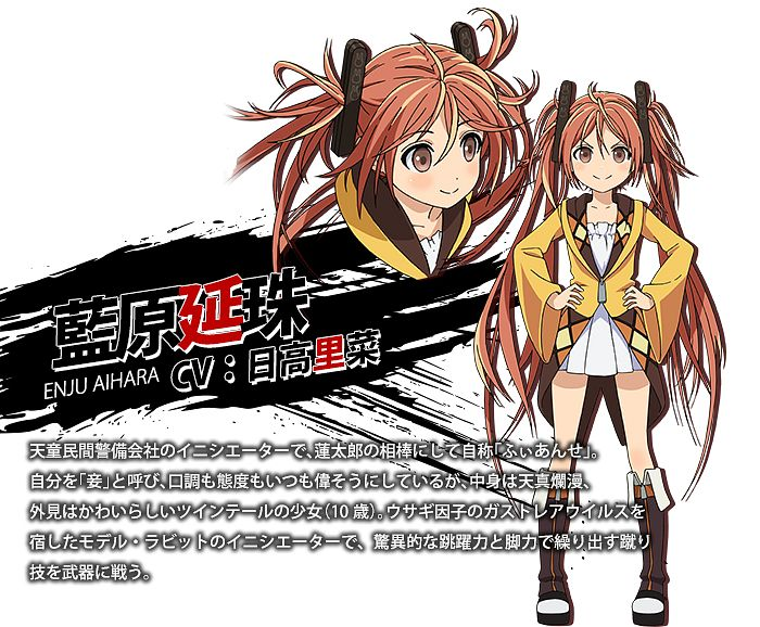 Tags: Anime, Umishima Senbon, Kinema Citrus, Black Bullet, Aihara Enju, Official Art, Cover Image, PNG Conversion, Enju Aihara