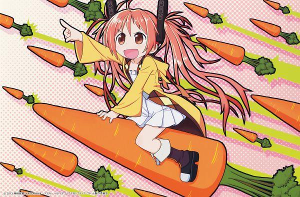 Tags: Anime, Koume Keito, Black Bullet, Aihara Enju, End Cards, Black Bullet - End Cards, Scan, Enju Aihara