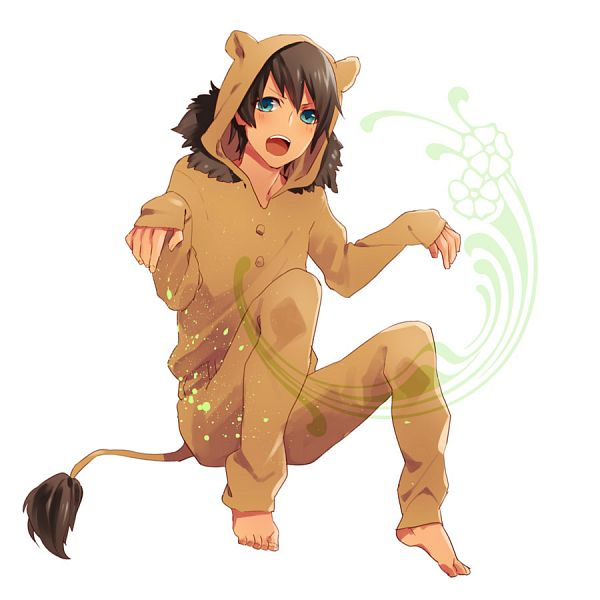 Tags: Anime, Pixiv Id 1809396, Uta no☆prince-sama♪, Aijima Cecil, Lion Tail, Shishimimi, Pixiv, Fanart From Pixiv, Fanart
