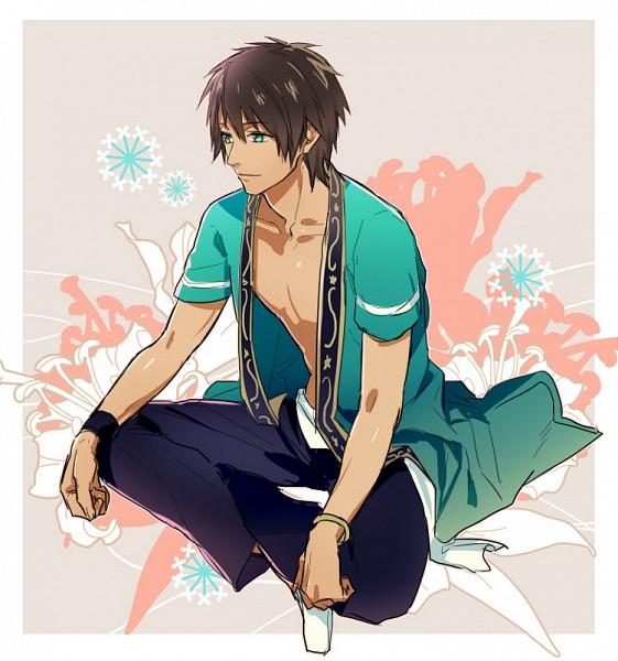 Tags: Anime, Fujiwara Ryo, BROCCOLI, Clock Tower (Game), Uta no☆prince-sama♪, Aijima Cecil, Fanart, Pixiv