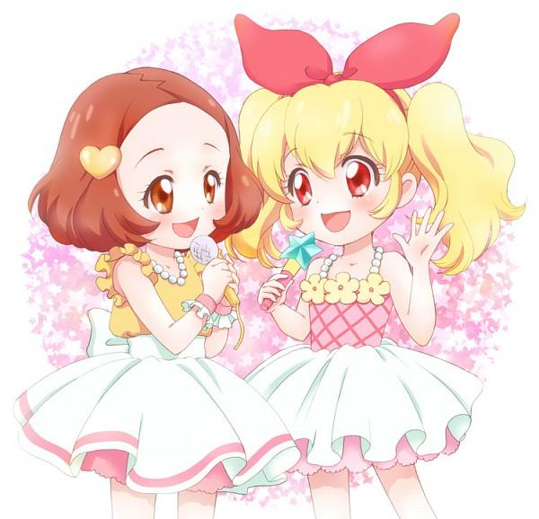 Tags: Anime, Chiririn, Aikatsu!, Hoshimiya Ringo, Hoshimiya Ichigo, Fanart From Pixiv, Pixiv, Fanart