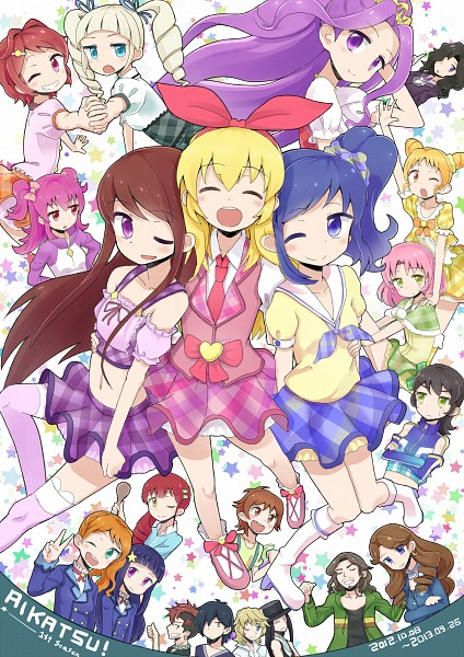 Tags: Anime, Pixiv Id 79362, Aikatsu!, Hiro (Aikatsu!), Hoshimiya Ringo, Ichinose Kaede, Hoshimiya Ichigo, Johnny Beppu, Shurato, Hoshimiya Raichi, Kitaouji Sakura, Suzukawa Naoto, King (Aikatsu!)