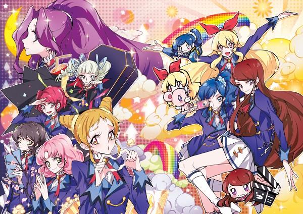 Tags: Anime, Tima, Aikatsu!, Ichinose Kaede, Kanzaki Mizuki, Kitaouji Sakura, Shibuki Ran, Toudou Yurika, Kiriya Aoi, Kamiya Shion, Hoshimiya Ichigo, Arisugawa Otome, Coffin