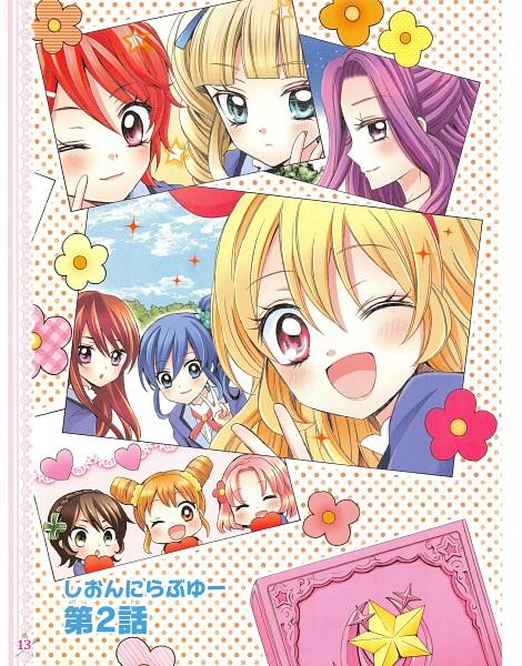 Tags: Anime, Ooka Saori, Aikatsu!, Shibuki Ran, Toudou Yurika, Kiriya Aoi, Kamiya Shion, Hoshimiya Ichigo, Arisugawa Otome, Ichinose Kaede, Kanzaki Mizuki, Kitaouji Sakura, Manga Page