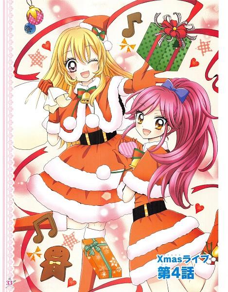 Tags: Anime, Ooka Saori, Aikatsu!, Otoshiro Seira, Hoshimiya Ichigo, Manga Color, Manga Page, Scan