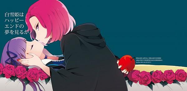 Tags: Anime, Yui (Rogusouku), Aikatsu!, Hikami Azusa, Hikami Sumire, Snow White (Disney) (Character) (Cosplay), The Evil Queen (Cosplay), Fanart From Pixiv, Pixiv, Fanart