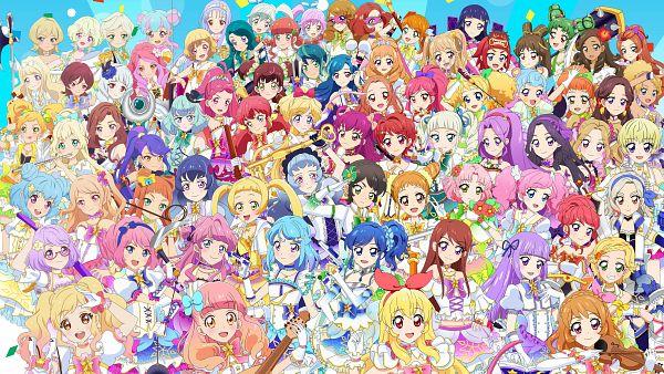 Tags: Anime, Aikatsu Stars!, Aikatsu!, Aikatsu Friends!, Kiriya Aoi, Kasumi Mahiru, Kazesawa Sora, Chouno Maika, Kurosawa Rin, Nikaidou Yuzu, Kamiya Shion, Kizaki Rei, Hikami Sumire