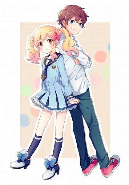 Tags: Anime, Soranagi, Aikatsu Stars!, Yuuki Subaru, Nijino Yume, Mobile Wallpaper