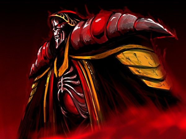 Tags: Anime, Pixiv Id 10925785, Overlord, Ainz Ooal Gown, Fanart From Pixiv, Pixiv, Fanart