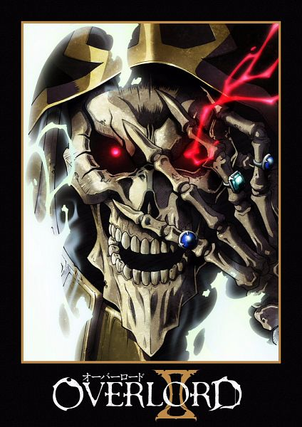 Tags: Anime, MADHOUSE, Overlord, Ainz Ooal Gown, Official Art, Key Visual