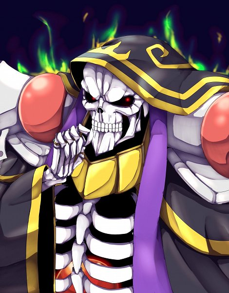 Tags: Anime, Pixiv Id 2796393, Overlord, Ainz Ooal Gown
