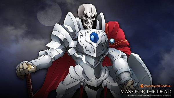 Tags: Anime, Exys Inc., Overlord, Overlord: Mass for the Dead, Ainz Ooal Gown, 3200x1800 Wallpaper, HD Wallpaper, Wallpaper, Official Art, Official Wallpaper
