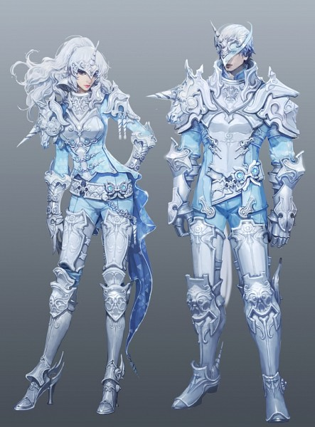 Tags: Anime, Nc Soft, Aion: The Tower of Eternity, Blue Gem, Greaves, The Tower Of Aion