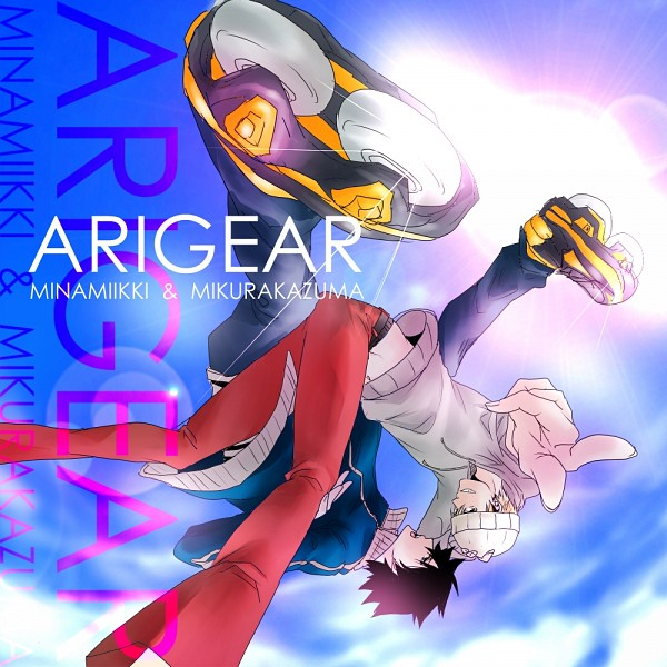 Tags: Anime, Yuuya (aice), Air Gear, Mikura Kazuma, Itsuki Minami, Roller Skates, Fanart