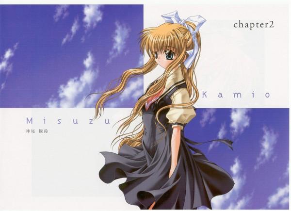 Tags: Anime, KEY (Studio), Air Visual Illlustration Book, AIR, Kamio Misuzu, Official Art