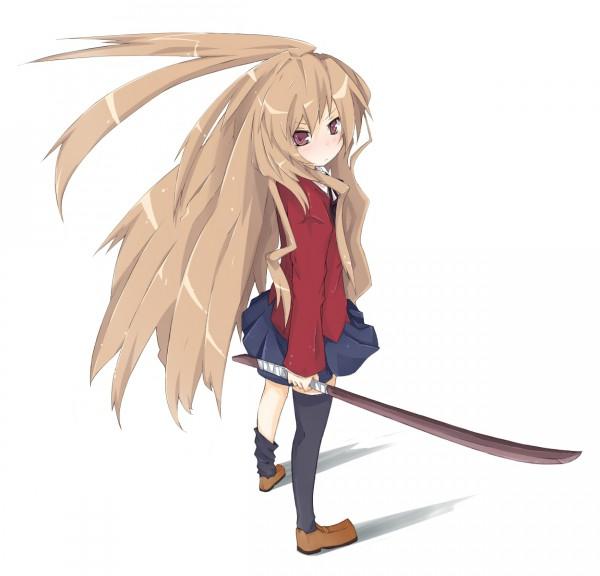 Tags: Anime, Kitsune (Scaz), Toradora!, Aisaka Taiga, Possible Duplicate