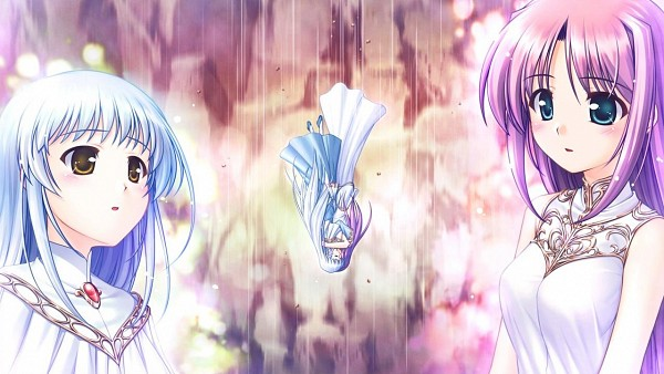 Tags: Anime, Bekkankou, August (Studio), Aiyoku no Eustia, Saint Irene, Lavria, Wallpaper, CG Art