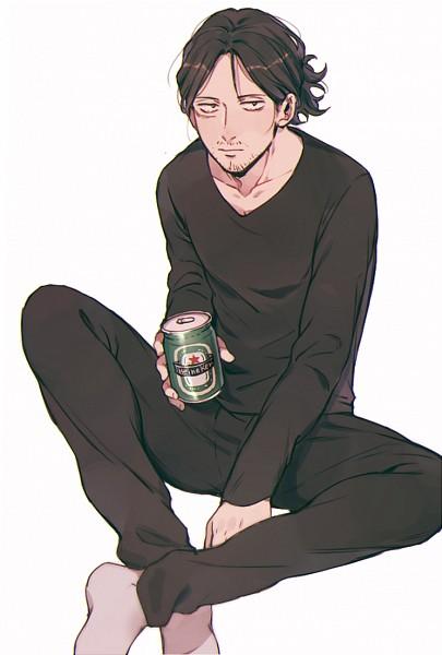 Tags: Anime, Pixiv Id 8126510, Boku no Hero Academia, Aizawa Shouta, Gray Legwear, Fanart From Pixiv, Pixiv, Fanart