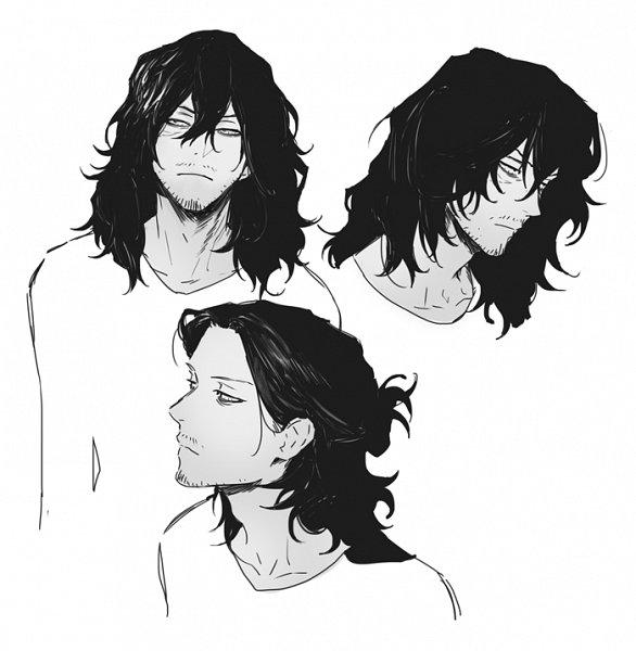Tags: Anime, Alle Page, Boku no Hero Academia, Aizawa Shouta, Sketch, Fanart, Tumblr, Fanart From Tumblr