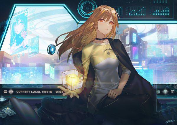 Tags: Anime, Ajahweea, Pixiv, Original