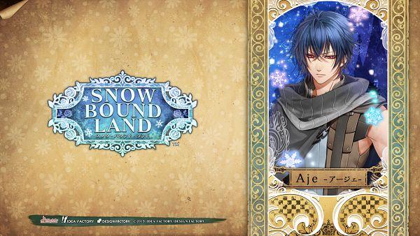Tags: Anime, Murasaki Aya, IDEA FACTORY, SNOW BOUND LAND, Aje, HD Wallpaper, Official Art, Facebook Cover, Official Wallpaper, Wallpaper