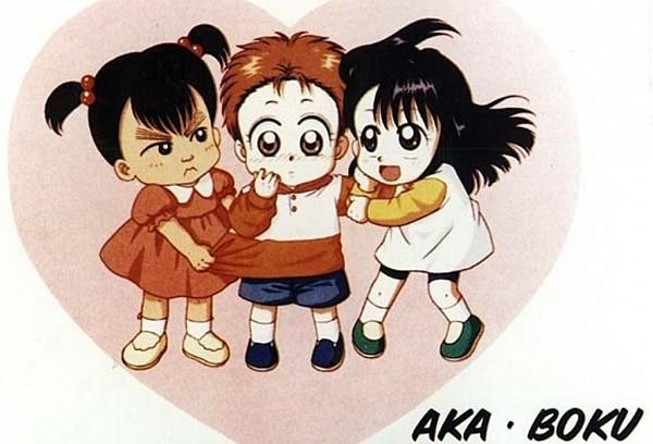 Tags: Anime, Aka-chan to Boku, Gotou Hiroko, Fujii Ichika, Enoki Minoru, Clinging, Baby And Me
