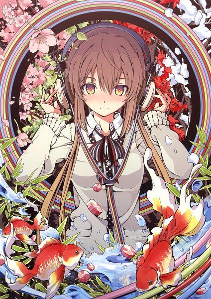 Tags: Anime, Aka Ringo, Eshi 100-Nin Ten 02, Scan, Mobile Wallpaper